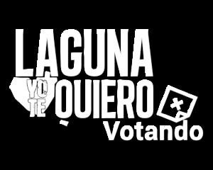 Laguna Yo Te Quiero Votando